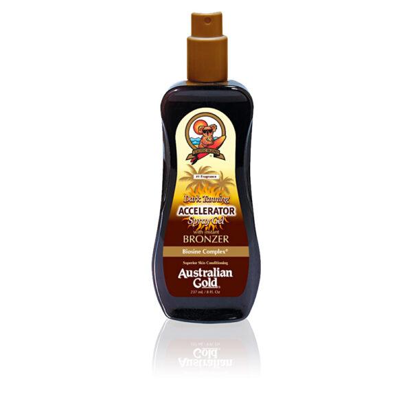 ACCELERATOR with bronzer spray gel 237 ml by Australian Gold