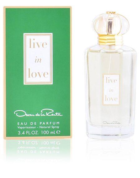LIVE IN LOVE edp vaporizador 100 ml by Oscar de la Renta