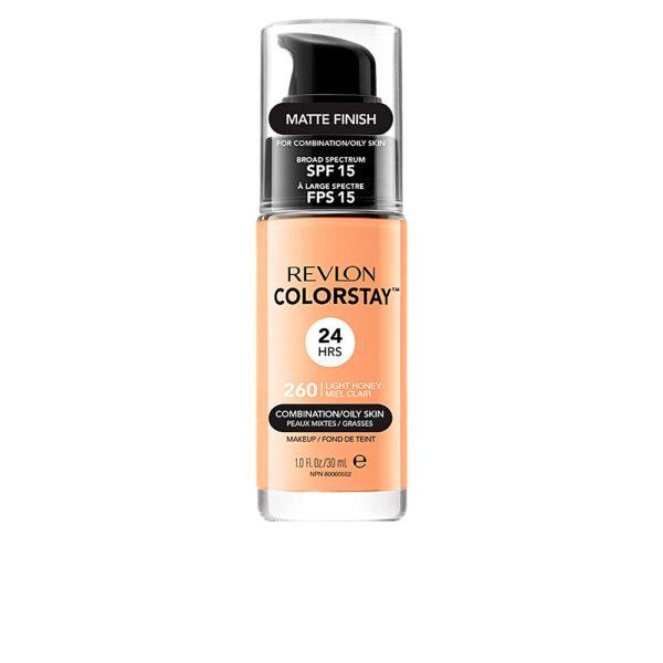 COLORSTAY foundation combination/oily skin #260-light honey by Revlon