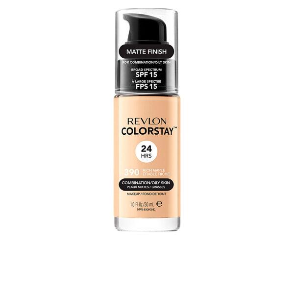COLORSTAY foundation combination/oily skin #390-rich marple by Revlon