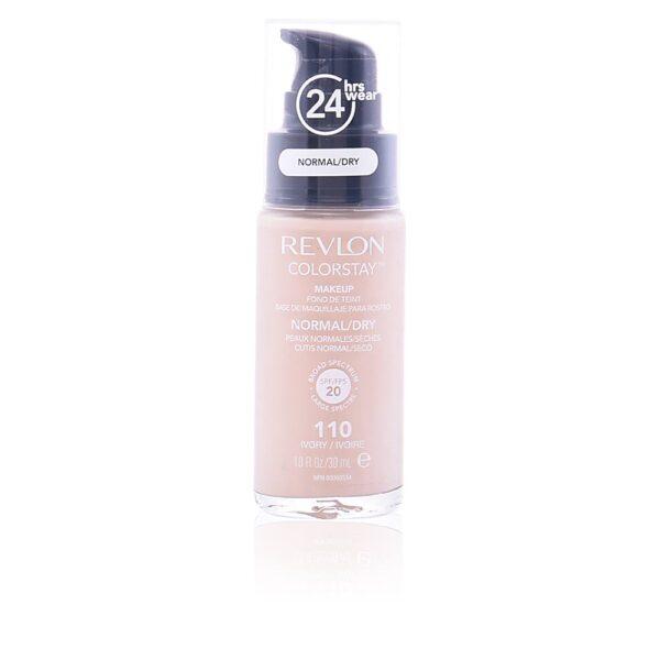 COLORSTAY foundation normal/dry skin #110-ivory 30 ml by Revlon