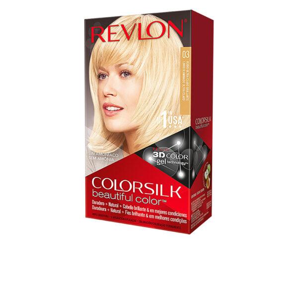 COLORSILK tinte #03-rubio ultra claro by Revlon