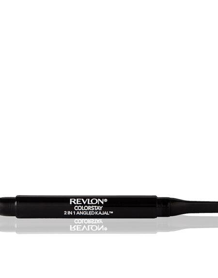 ANGLED KAJAL 2in1 eye pencil #101-onix by Revlon