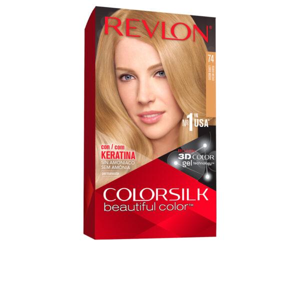 COLORSILK tinte #74-rubio medio by Revlon