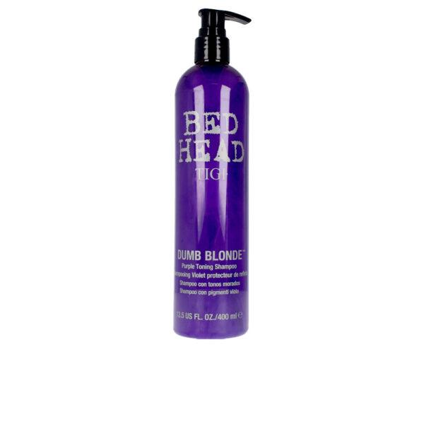 BED HEAD DUMB BLONDE purple toning shampoo 400 ml by Tigi