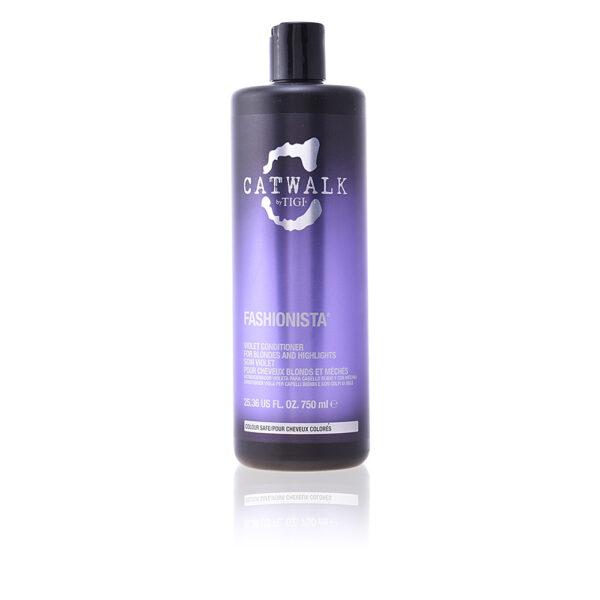 CATWALK fashionista violet conditioner 750 ml by Tigi
