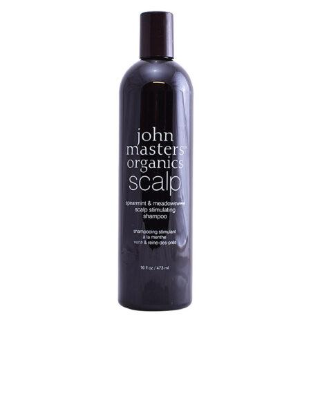 SPEARMINT & MEADOWSWEET scalp stimulating shampoo 473 ml by John Masters Organics