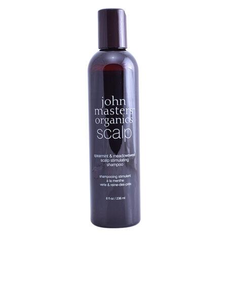 SPEARMINT & MEADOWSWEET scalp stimulating shampoo 236 ml by John Masters Organics