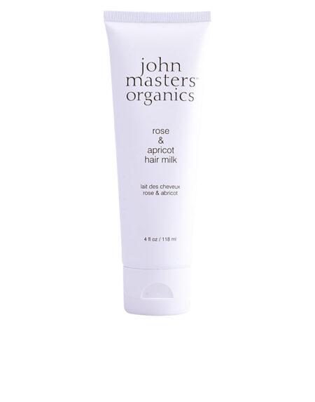 ROSE & APRICOT hair milk 118 ml by John Masters Organics