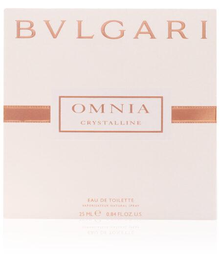OMNIA CRYSTALLINE edt vaporizador satin pouch 25 ml by Bvlgari
