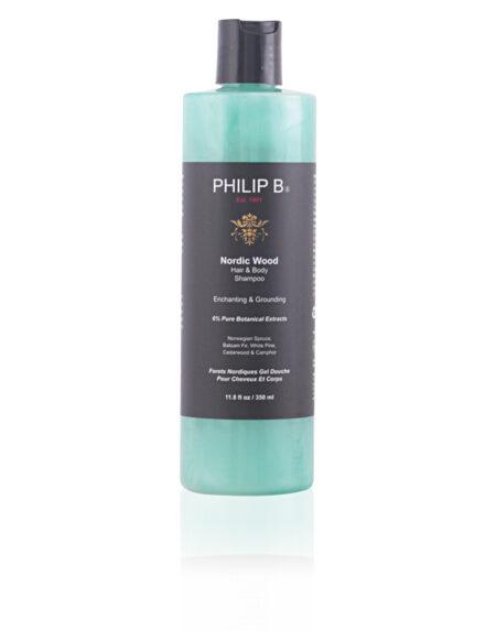 NORDIC WOOD hair & body shampoo 350 ml by Philip B