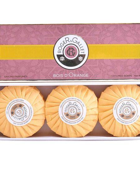 BOIS D'ORANGE savons parfumés 3 x 100 gr by Roger & Gallet