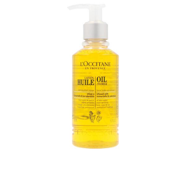 LAIT-EN-HUILE démaquillant visage 200 ml by L'Occitane