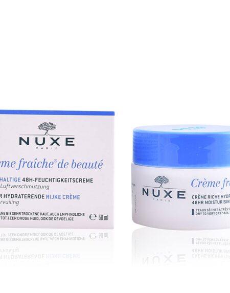CRÈME FRAÎCHE DE BEAUTÉ crème riche hydratante 48h 50 ml by Nuxe