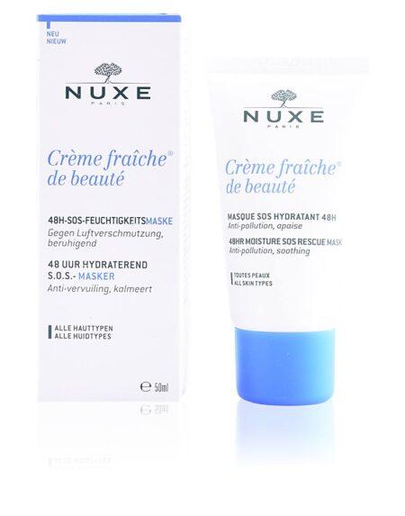 CRÈME FRAÎCHE DE BEAUTÉ masque sos hydratant 48h 50 ml by Nuxe