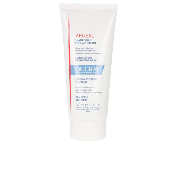ARGEAL sebum-absorbing shampoo oily scalp&hair 200 ml by Ducray