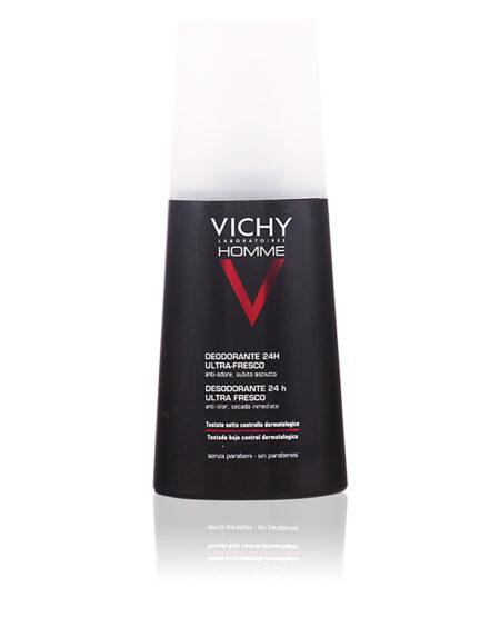 VICHY HOMME déodorant spray 24h ultra frais 100 ml by Vichy