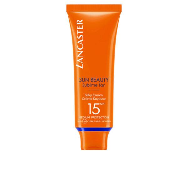 SUN BEAUTY silky touch face cream SPF15 50 ml by Lancaster