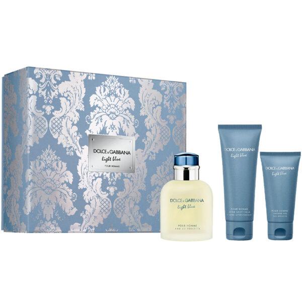 LIGHT BLUE POUR HOMME LOTE 3 pz by Dolce & Gabbana