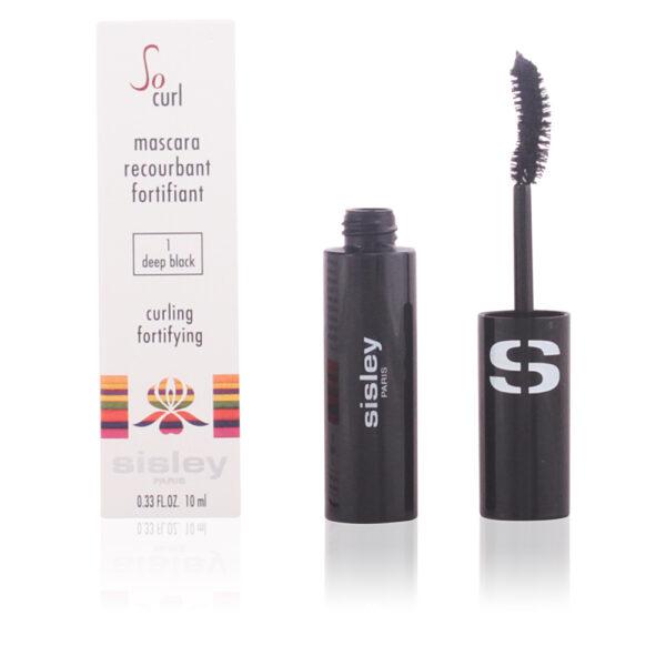 SO CURL mascara #01-deep black 10 ml by Sisley