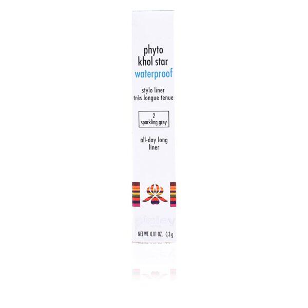 PHYTO KHOL STAR WP stylo liner #02-sparkling grey 0