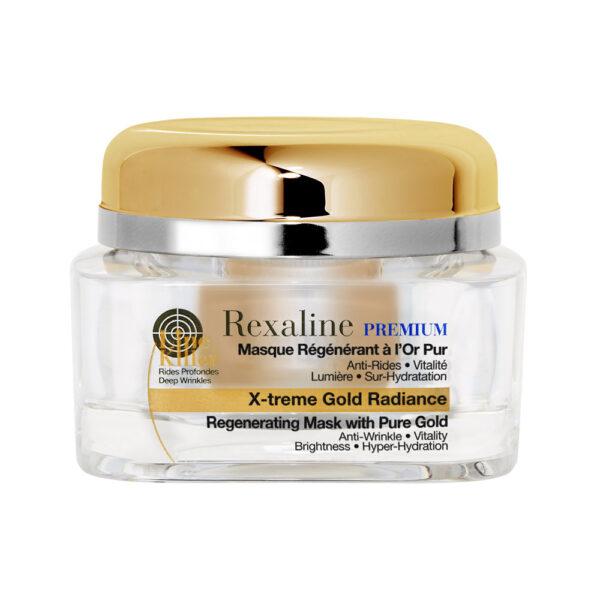 PREMIUM LINE-KILLER X-TREME regenerating mask pure gold 50ml by Rexaline