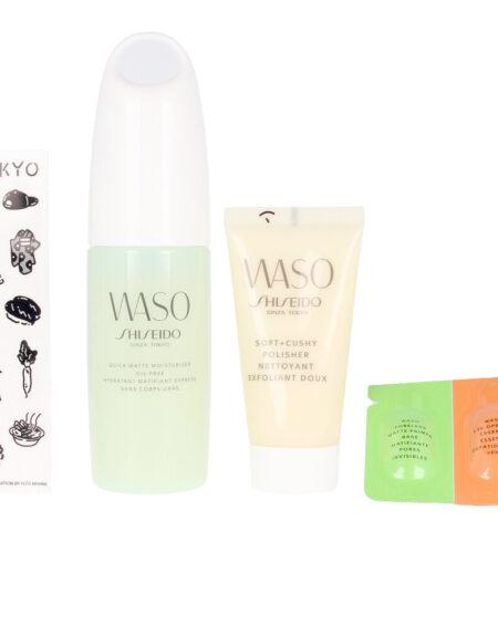 WASO QUICK MATTE MOISTURIZER OIL-FREE LOTE 3 pz by Shiseido