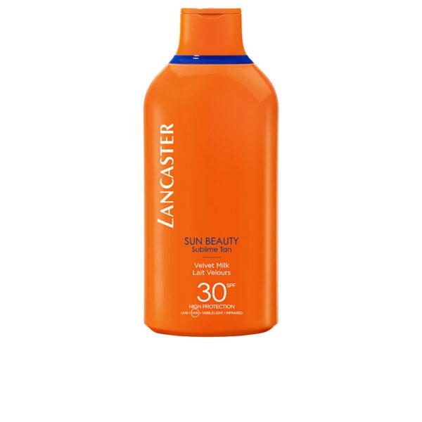 SUN BEAUTY velvet milk SPF30 400 ml by Lancaster