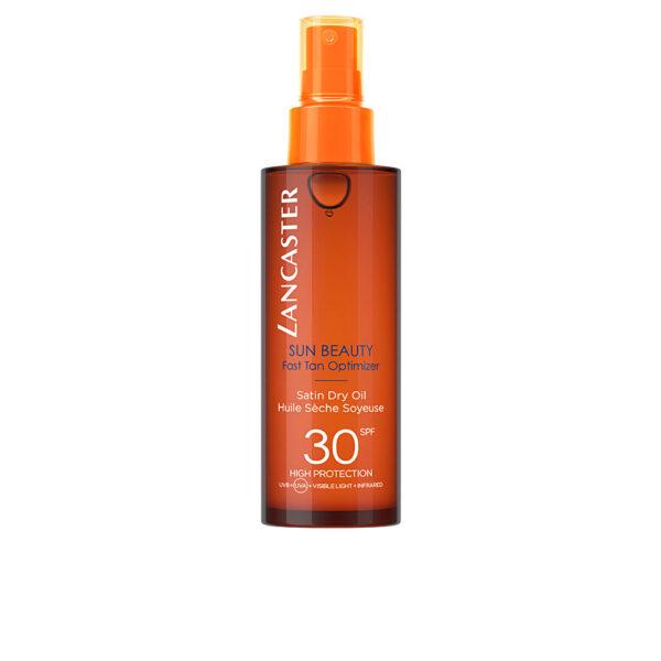 SUN BEAUTY satin sheen oil fast tan optimizer SPF30 150 ml by Lancaster