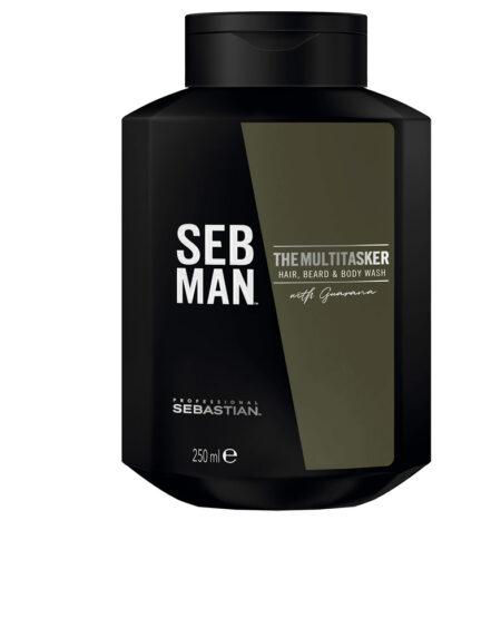 SEBMAN THE MULTITASKER 3 in 1 hair wash 250 ml by Seb Man