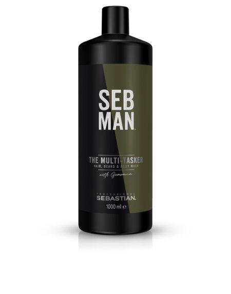 SEBMAN THE MULTITASKER 3 in 1 hair wash 1000 ml by Seb Man