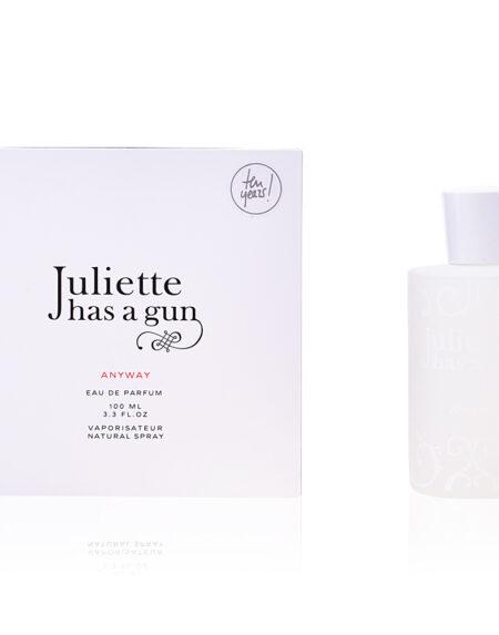 ANYWAY edp vaporizador 100 ml by Juliette has a gun