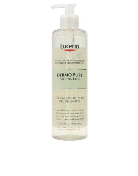 DERMO PURE oil control gel limpiador facial 400 ml by Eucerin
