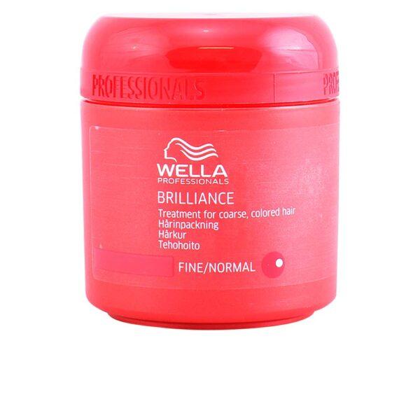 BRILLIANCE mask fine/normal hair 150 ml by Wella