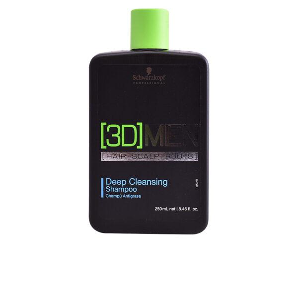 3D MEN deep cleansing shampoo 250 ml by Schwarzkopf