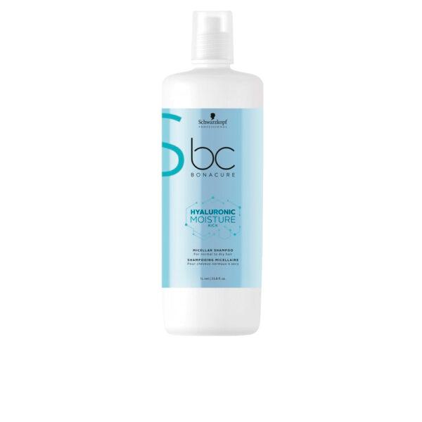 BC HYALURONIC MOISTURE KICK micellar shampoo 1000 ml by Schwarzkopf