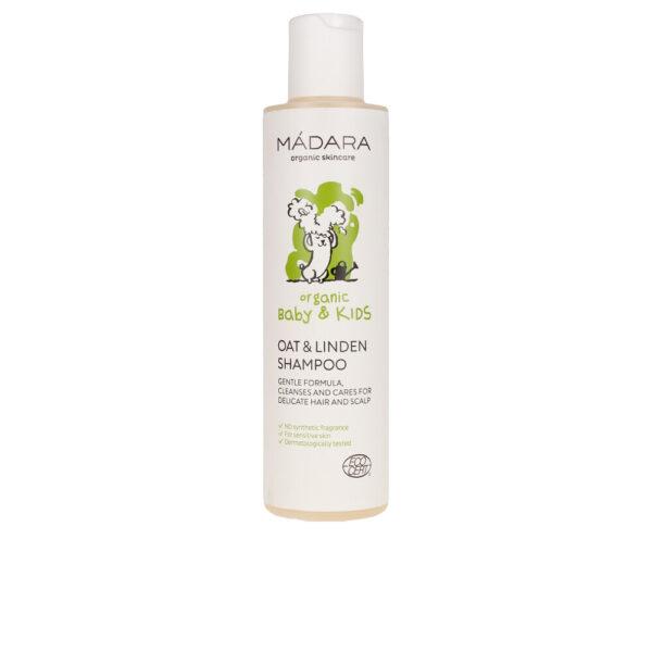 BABY&KIDS oat&linden shampoo 200 ml by Mádara organic skincare