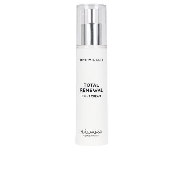 TIME MIRACLE total renewal night cream 50 ml by Mádara organic skincare