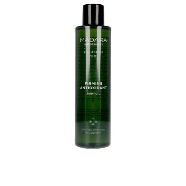 INFUSION VERT firming antioxidant body oil 200 ml by Mádara organic skincare
