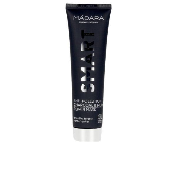 SMART anti-pollution charcoal&mud repair mask 60 ml by Mádara organic skincare