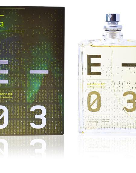 ESCENTRIC 03 edt vaporizador 100 ml by Escentric Molecules