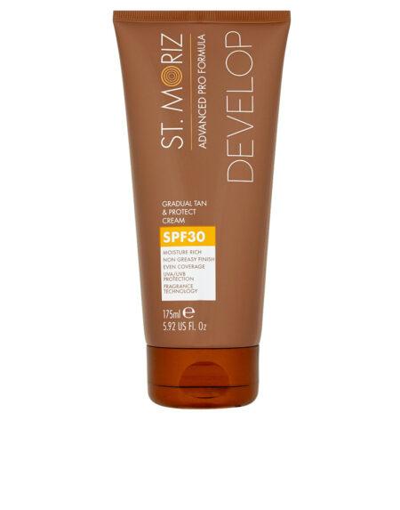 ADVANCED PRO FORMULA gradual tan & protect cream SPF30 175 m by St. Moriz