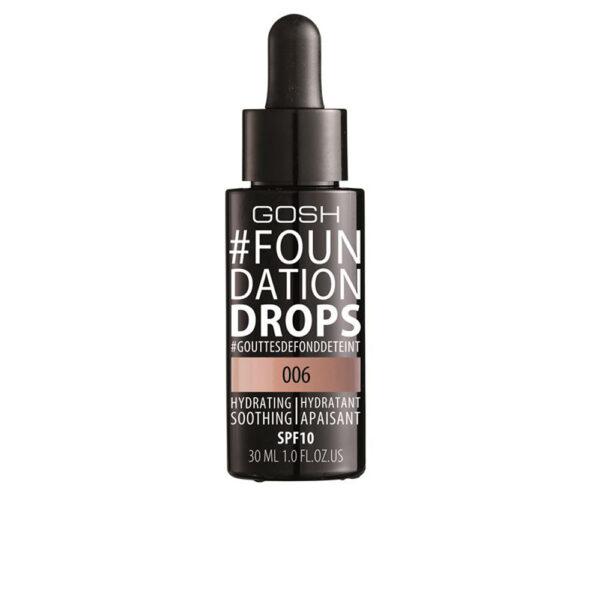 #FOUNDATION DROPS hydrating SPF10 #006-tawney 30 ml by Gosh