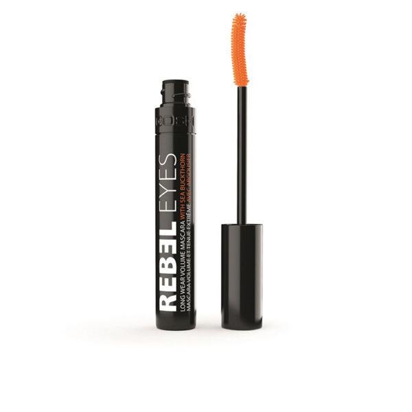 REBEL EYES long wear volume mascara #001-black 10 ml by Gosh
