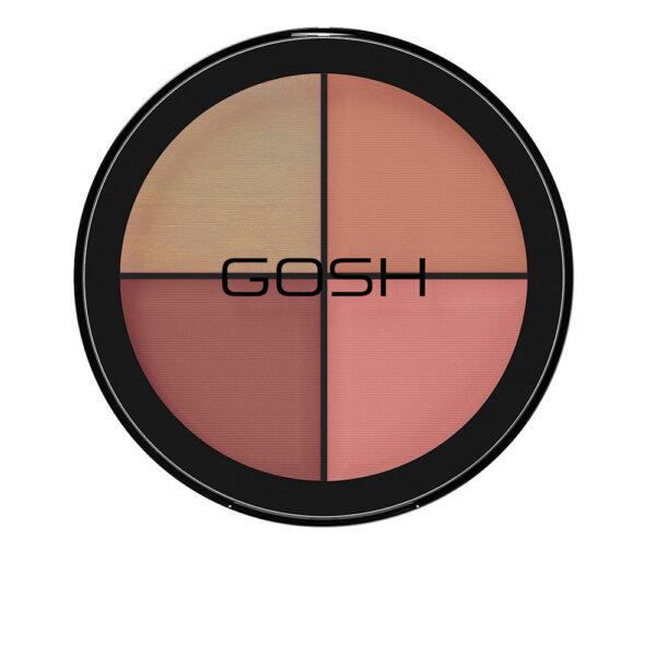 STROBE'N GLOW illuminator kit #002-blush 15 gr by Gosh