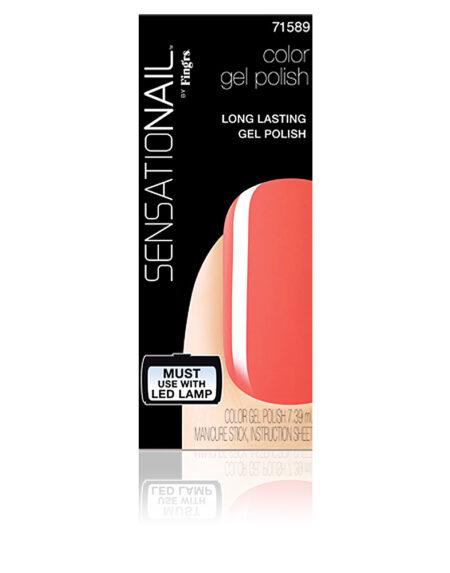 SENSATIONAIL gel color #coral sunset 7