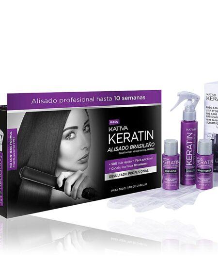 KERATIN ALISADO BRASILEÑO LOTE 3 pz by Kativa
