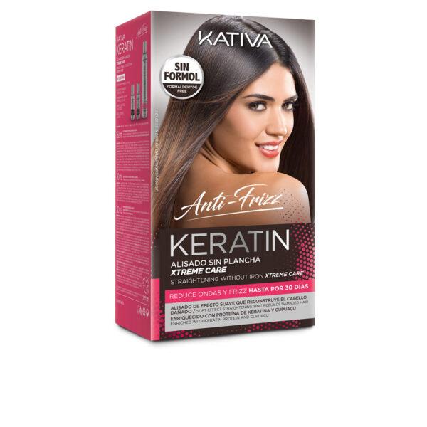 KERATIN ANTI-FRIZZ alisado sin plancha xtrem care 30 días by Kativa