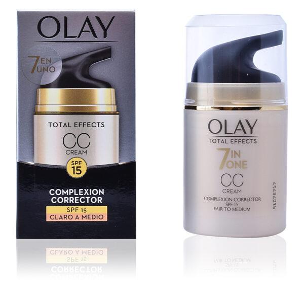 TOTAL EFFECTS CC cream SPF15 #claro a medio 50 ml by Olay