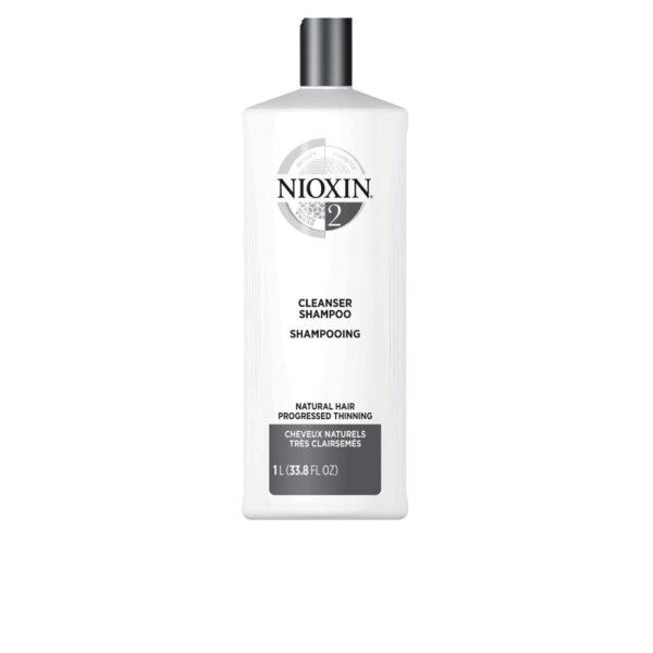 SYSTEM 2 shampoo volumizing very weak fine hair 1000 ml by Nioxin